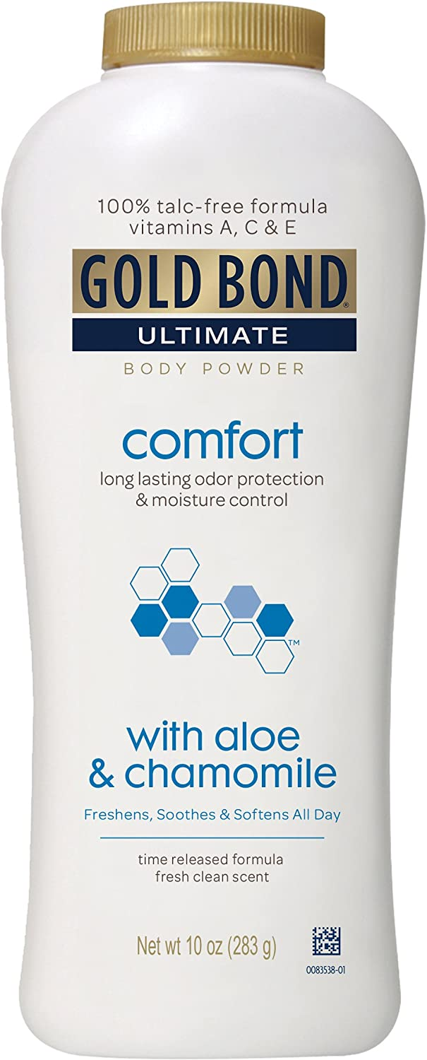 Gold Bond Ultimate Comfort Body Powder Aloe 10 oz
