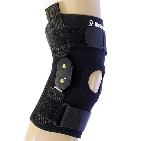 a23ac10526 Amazon.com: McDavid 429 Knee Brace W/ Polycentric Hinges Black XL: Sports &  Outdoors
