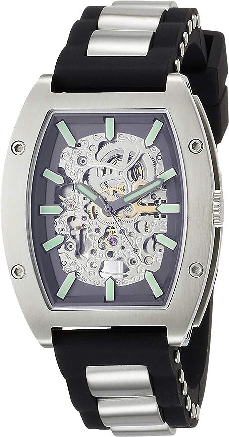[アルカフトゥーラ] 自動巻き腕時計 トノースケルトン 978LE メンズ ブラック