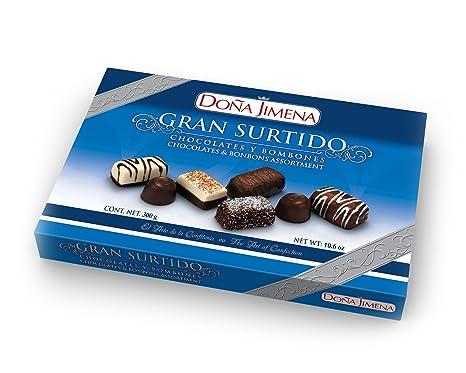 Surtido Chocolates Y Bombones Doña Jimena 300G: Amazon.es ...