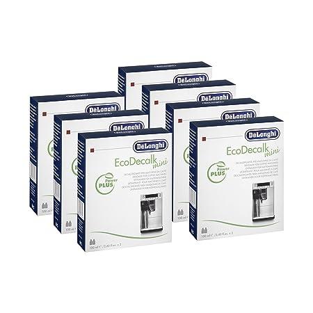 7 x DeLonghi EcoDecalk descalcificador Mini (de 2 x 100 ml ...