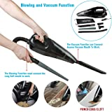 Car Vacuum Cleaner,Wietus™12V,Power:85W,3.2KPA Suction, Portable Wet/Dry Handheld Auto Car Vacuum Cleaner,Blow Cleaner and Vacuum Cleaner Function,13.2FT(4M) cord, Put 5-in-1 Vacuum Mouths to Vacuum the Hair&Wool Fabric&Water With Pouch