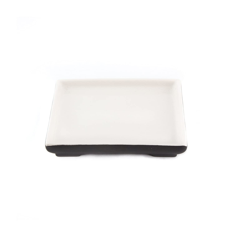 Magisso White Line Naturally Cooling Ceramic Carafe #70632