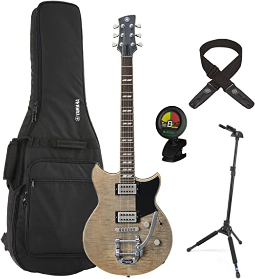 Yamaha rs720b agr gris ceniza revstar guitarra eléctrica w/funda ...