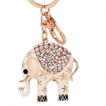 Amazon.com : Womens Llaveros Animal Elephant Keychain ...