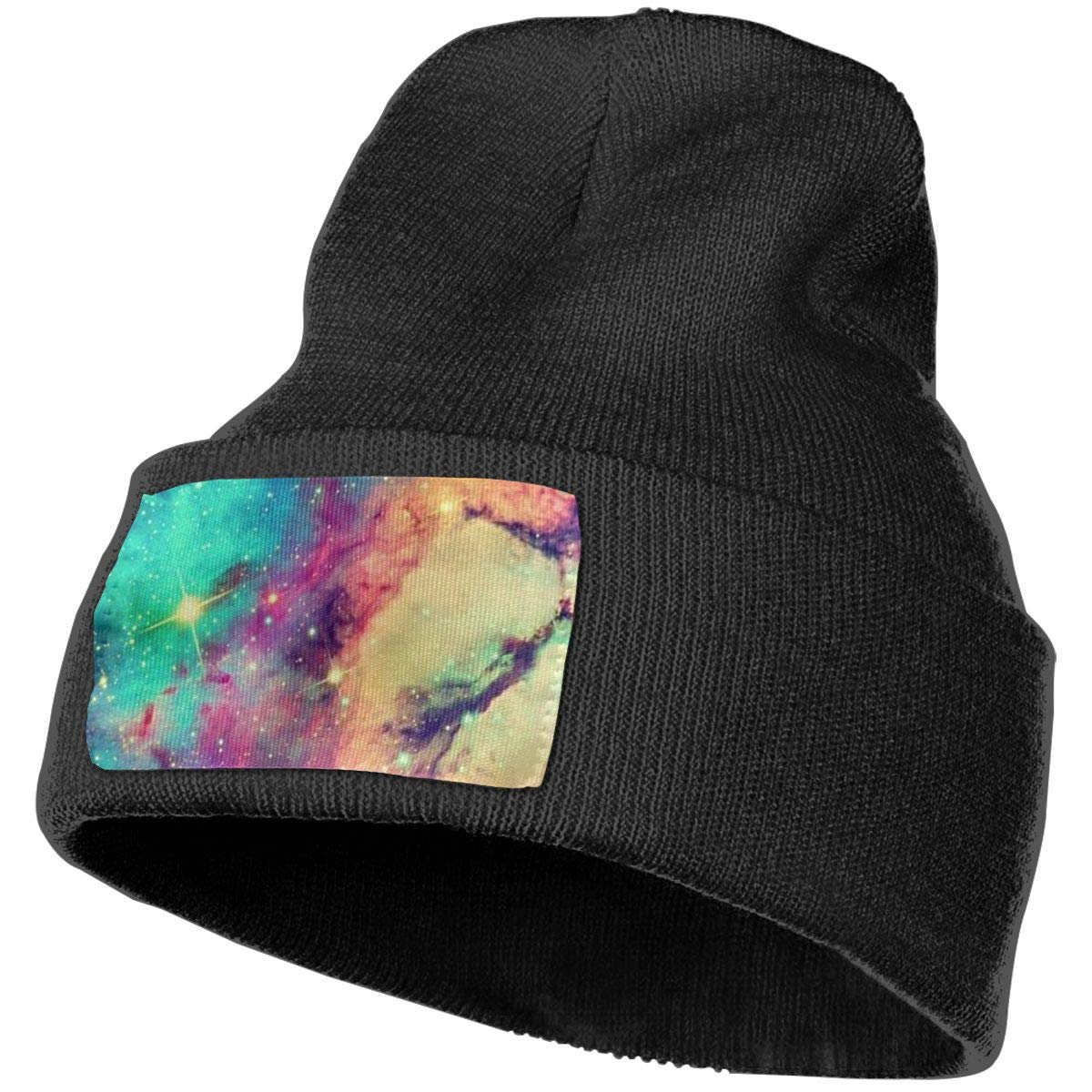 100/% Acrylic Acid Mas Beanie Hat Ruin Starry Sky Fashion Knitting Hat for Men Women