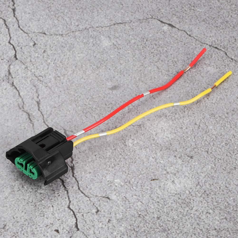 2 pezzi Auto moto Presa per cablaggio adattatore femmina Base portalampada Lampadina Connettore cavo femmina per H8 H9 H11 Presa per cablaggio adattatore femmina