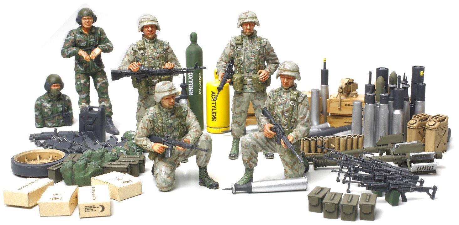 Tamiya 89772 1//35 US Modern Elite Infantry w//Accessory Limited 300089772 HTAMPK89772