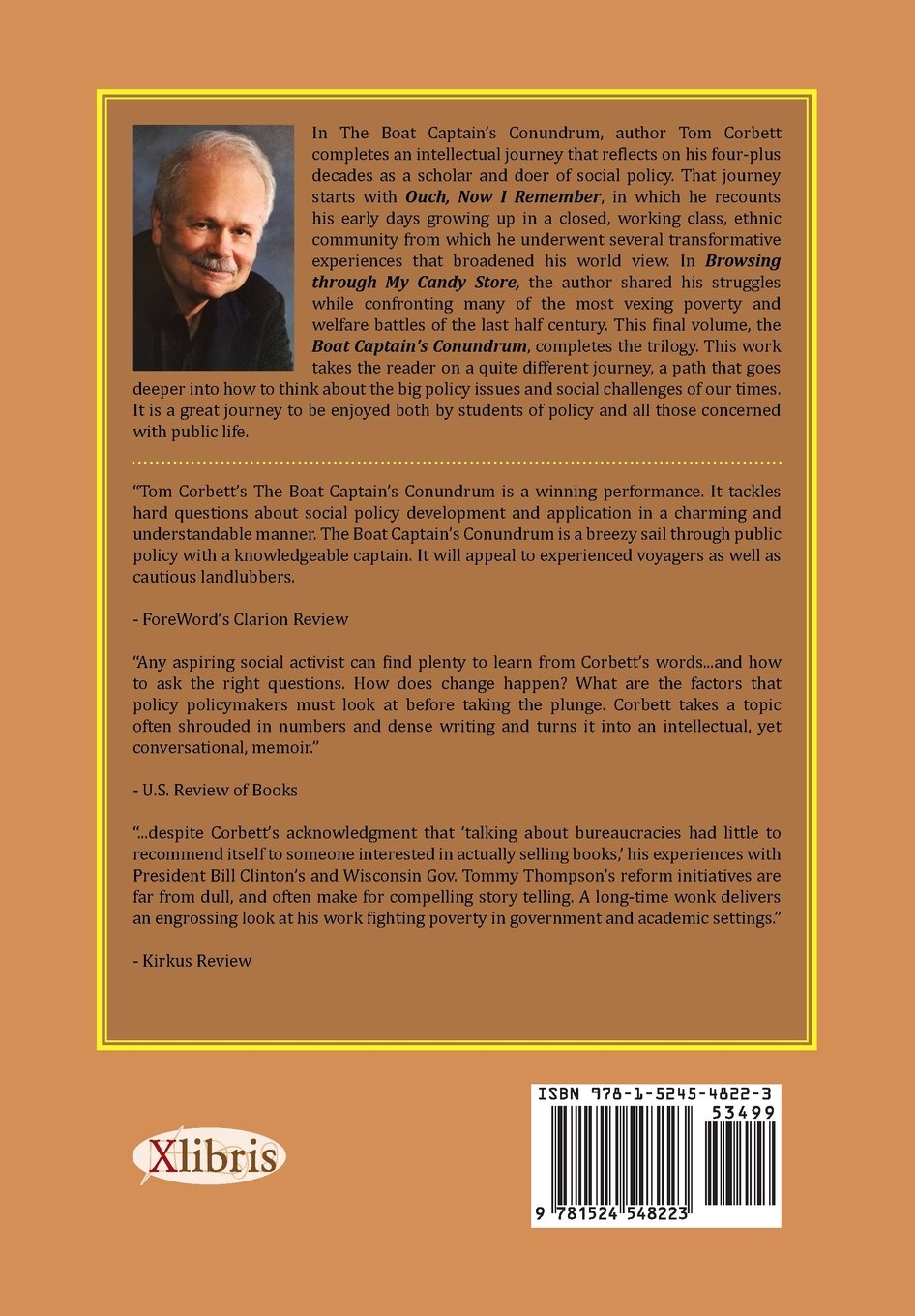 The Boat Captain's Conundrum: A Whimsical Tour Through A Policy Wonk's  Mind: Tom Corbett Phd: 9781524548223: Amazon: Books