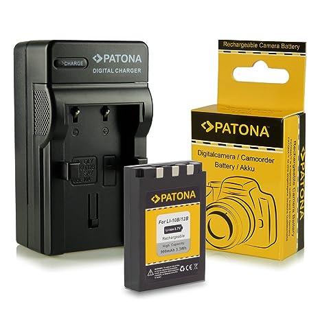 Cargador + Batería Li-10B / Li-12B para Olympus C-50 Zoom   C-60 Zoom   C-70 Zoom   C-470 Zoom   C-760 UltraZoom   C-765 UltraZoom   C-770 UltraZoom   ...