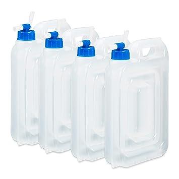 Trinkflaschen & Trinksysteme Gut Leerkanister 5l Wasserkanister Lebensmittelecht Trinkwasserkanister