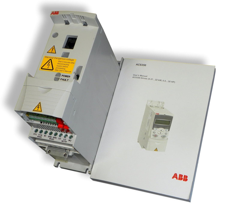 Amazon.com : ABB ACS350-03U-04A7-2 Variable Frequency Drive 1HP 0.75Kw,  200-240V 4.7Amps : Garden & Outdoor