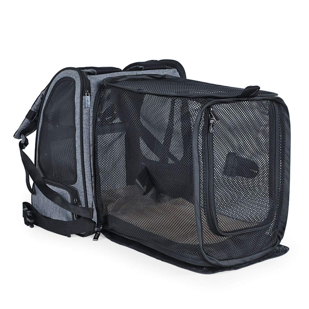 NYJ Pet Carrier Portable Dog Carrier Cat Carrier Bag With Padding Expandable Breathable Airline Approved Pet Travel Carrier For Outdoor