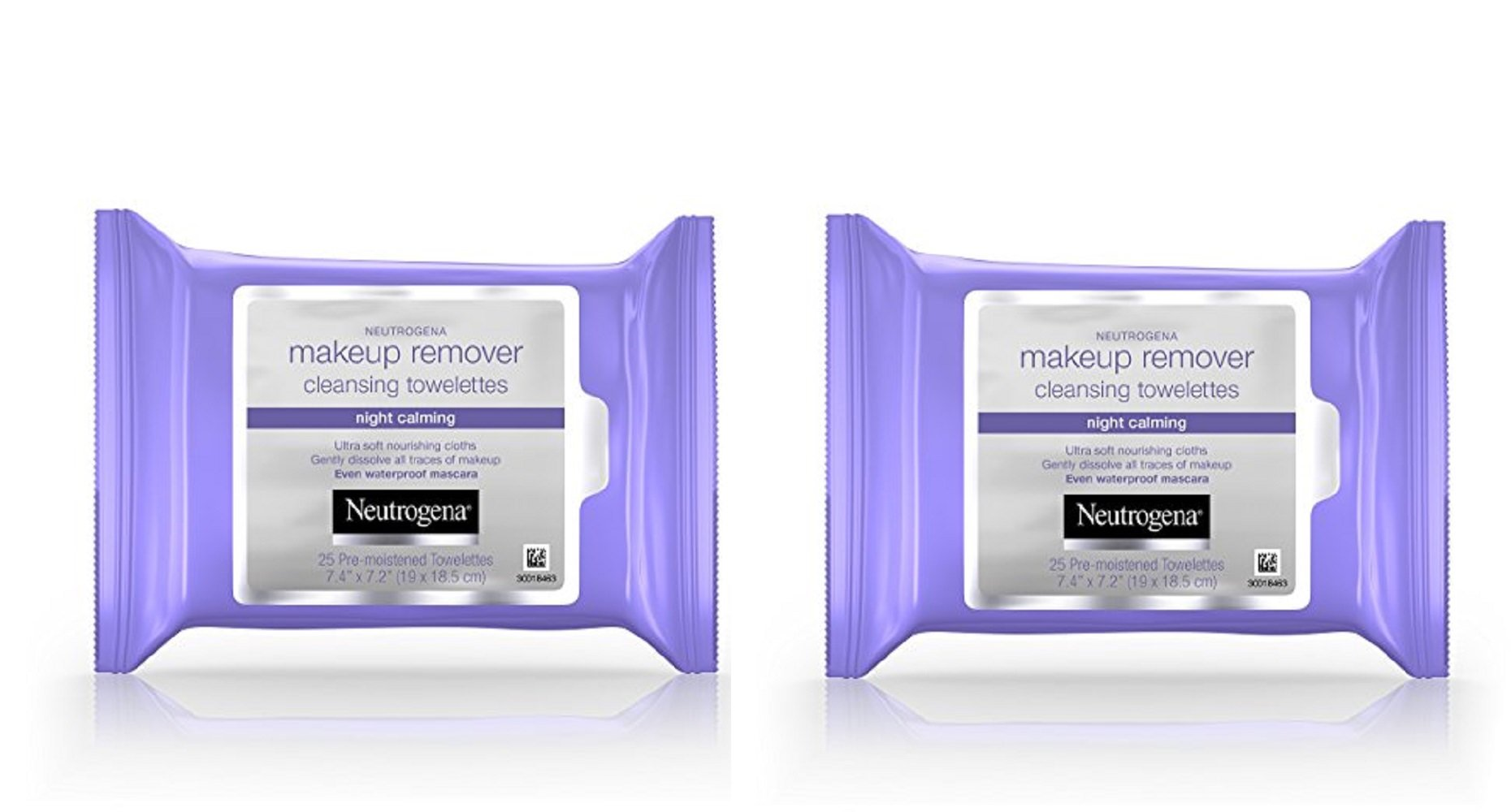 Neutrogena Makeup Remover Cleansing Towelettes Night Calming, 25 Count (Pack of 6) kQaTwh, 2Pack (Night)
