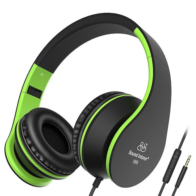 29 opinioni per Cuffie, Sound Intone I68 Stereo Con Microfono in Linea controllo volume per