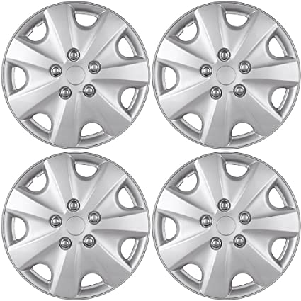 Amazon Com 15 Inch Hubcaps Best For 2003 2007 Honda Accord
