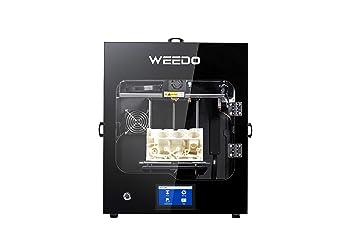 Impresora 3D, Pantalla LCD con Marco de Metal Totalmente Cerrado ...
