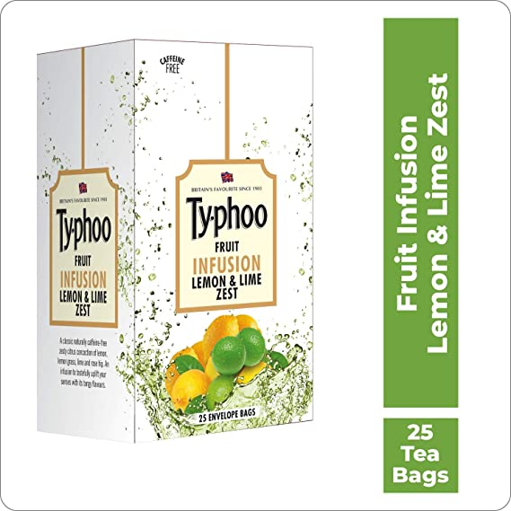 Typhoo Lemon and Lime Zest - Bolsa de té para infusión de ...