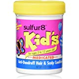 Sulfur8 Kid's Medicated Anti-Dandruff Hair and Scalp Conditioner, 4 Ounce