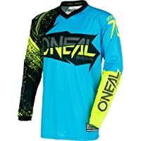 Camiseta de MX Oneal 2018 Element Burnout Negro-azul-Hi
