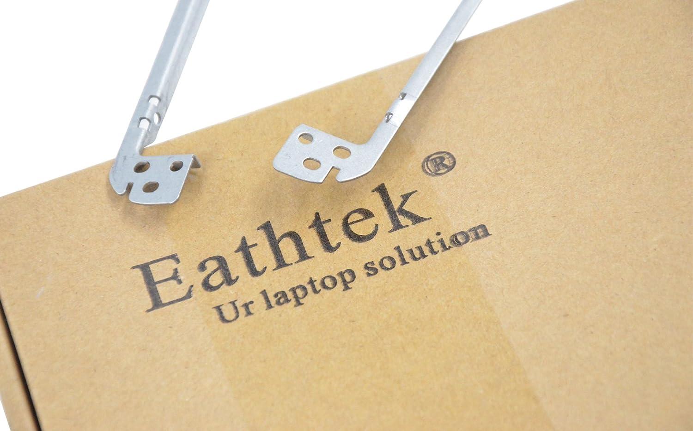 Eathtek Replacement LCD Rail Bracket Right Compatible with part# K3Y8 X 0K3Y8X CN-0K3Y8X Left Set for Dell XPS 15 L501X L502X series