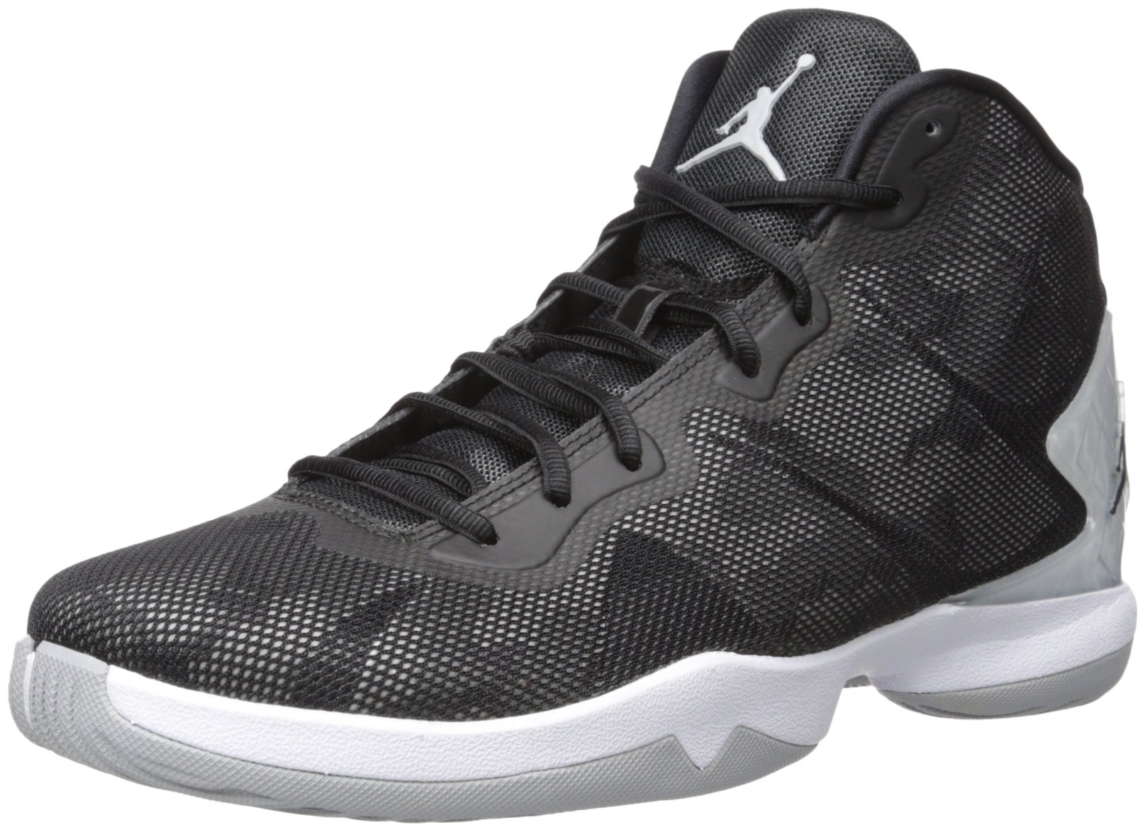 Nike Jordan Men's Jordan Super.Fly 4 Black/Black/Wlf Grey/Infrrd 23 Basketball Shoe 10.5 Men US by Jordan
