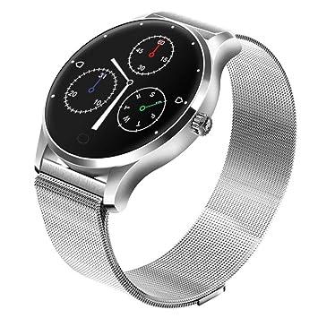 Diadia - Reloj Inteligente Bluetooth con Monitor de frecuencia ...