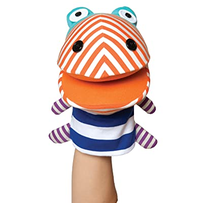 Manhattan Toy Zainys Crocodile Hand Puppet: Toys & Games