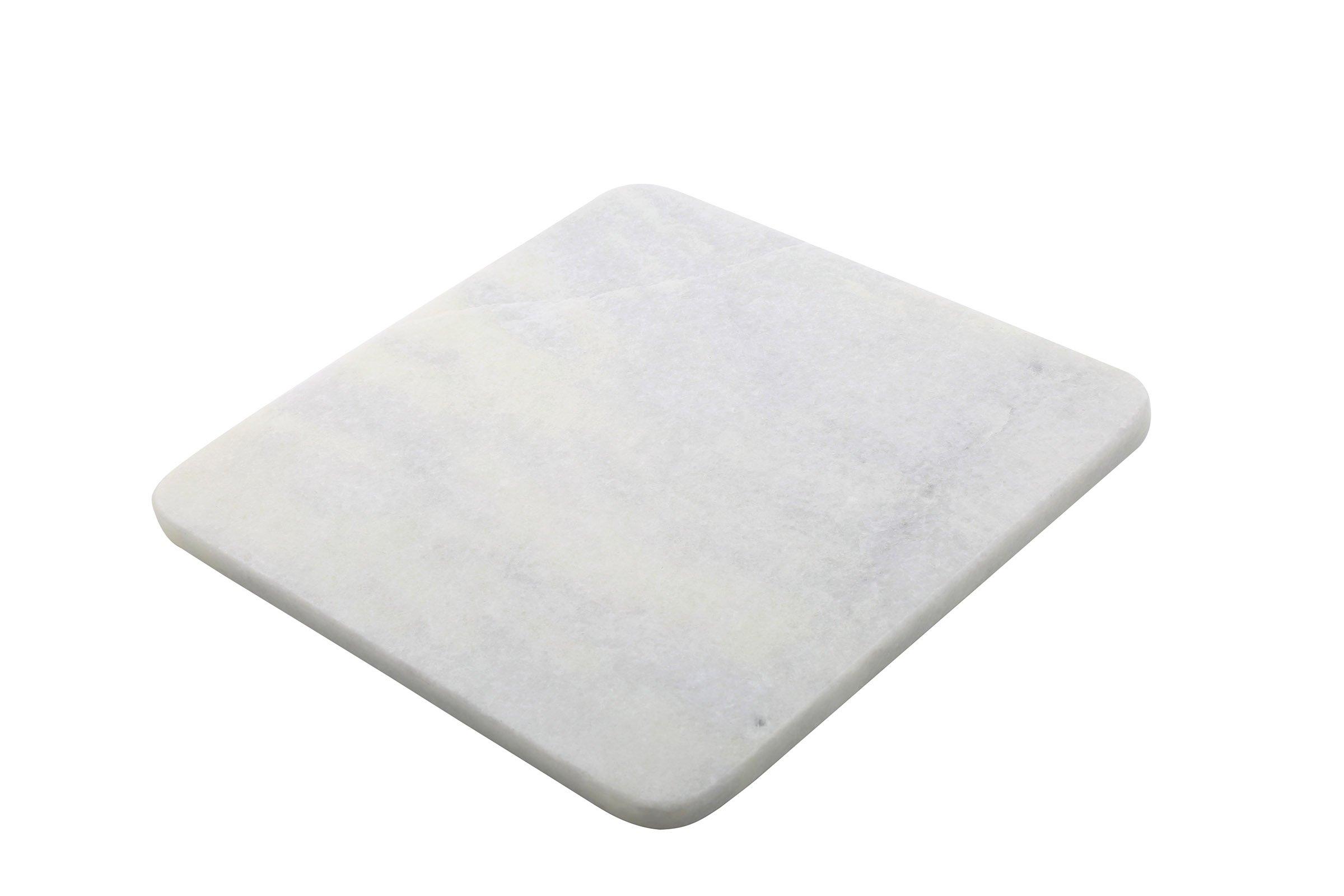 Thirstystone NMC28611 White Marble Trivet