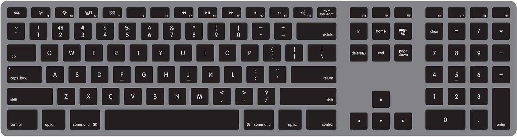 Matias Fk318lb Aluminum Wired Tastatur Mit Computer Zubehör