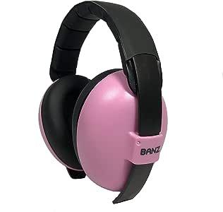 BANZ Mini Earmuffs, Pink, Mini