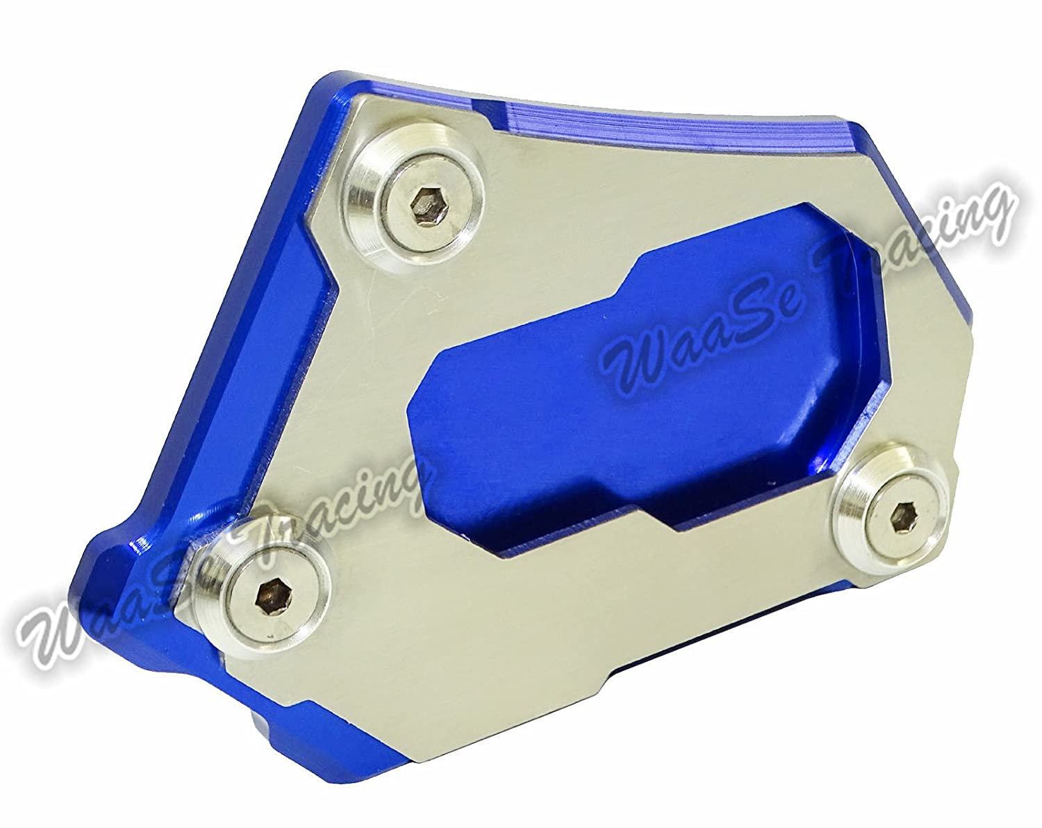 Gold waase R 1200 GS Motorcycle Kickstand Foot Side Stand Extension Pad Support Plate For BMW R1200GS LC K50 2012 2013 2014 2015 2016