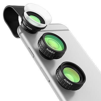 AUKEY スマホカメラ 4in1 レンズキット PL-A4