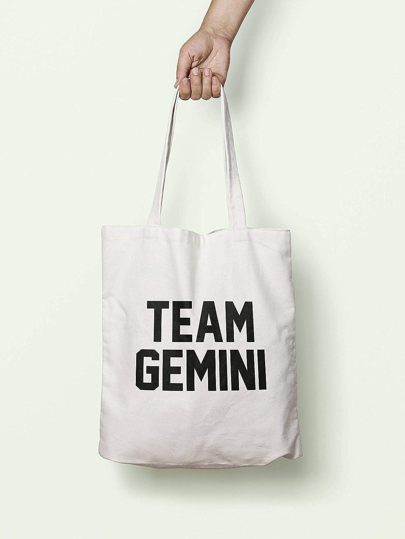 Team Gemini - Bolsa de asas, lavables, reutilizables, ideal para regalo