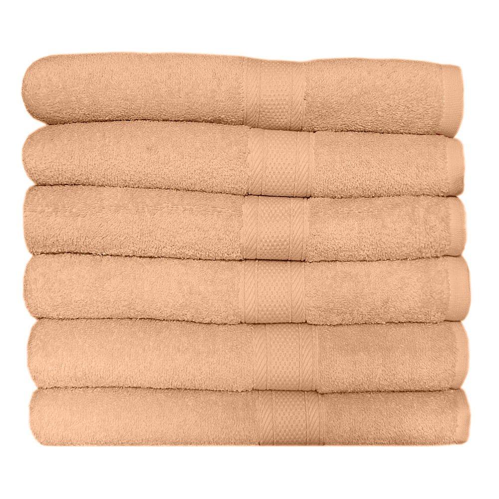 Go West Juego de toallas de baño (70 x 125 cm, algodón peinado, 6 unidades) Alami International Ltd. 3190BBL