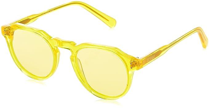 Ocean Eye 10100 Eye 10100 10100, Occhiali da Sole Unisex - Adulto, Giallo Trasparente, 48