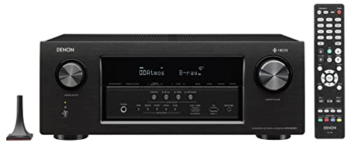 Denon AVRS930H 7.2 Channel AV Receiver with Built-in HEOS wireless technology, Works with Alexa