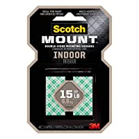 Deals on 48CT Scotch-Mount Indoor Double-Sided Mounting Squares 111H-SQ-48