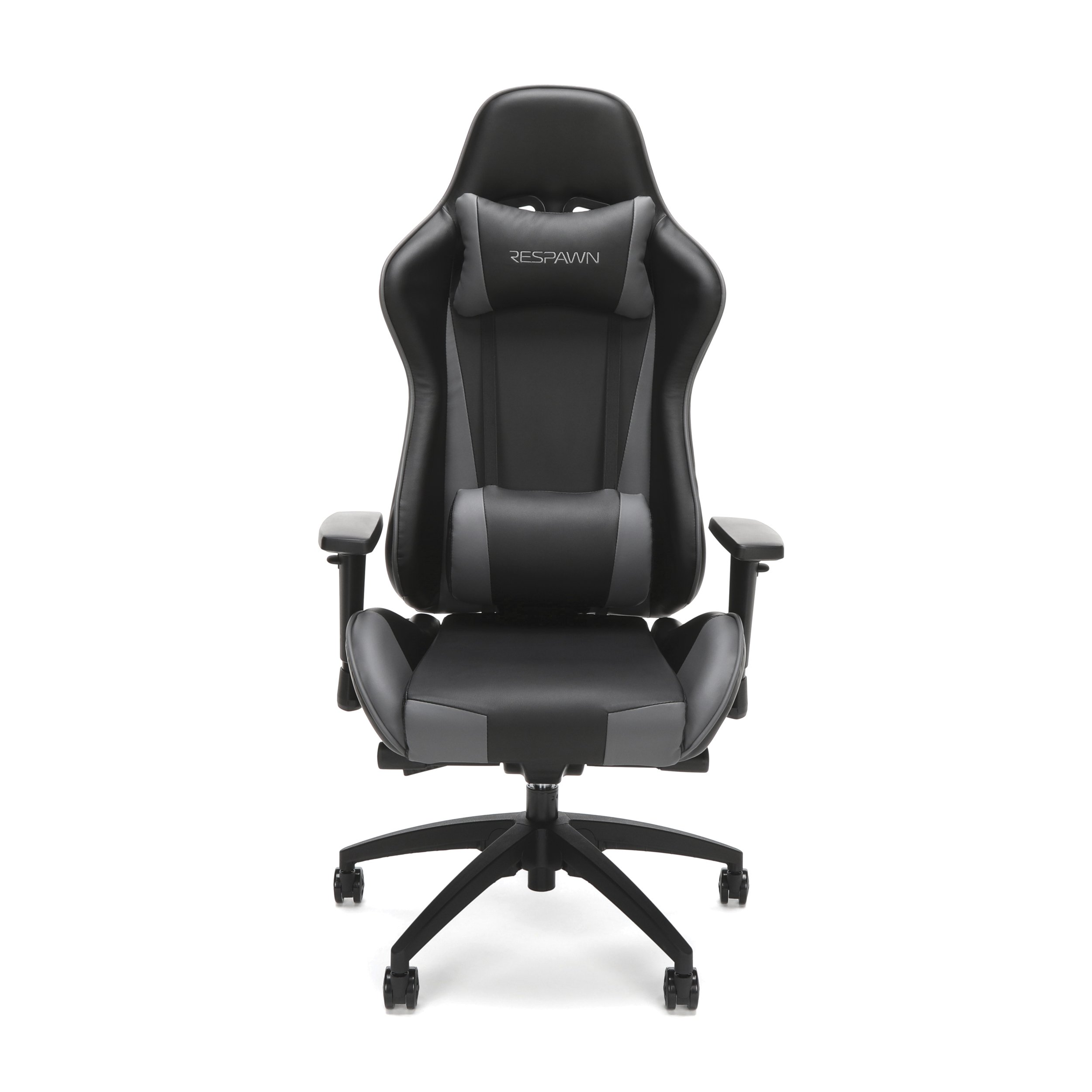RESPAWN-105 Racing Style Gaming Chair - Reclining Ergonomic Leather Chair, Office or Gaming Chair (RSP-105-GRY) by RESPAWN (Image #2)