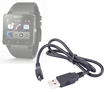 DURAGADGET Cable De Sincronización para Sony SmartWatch 2 ...