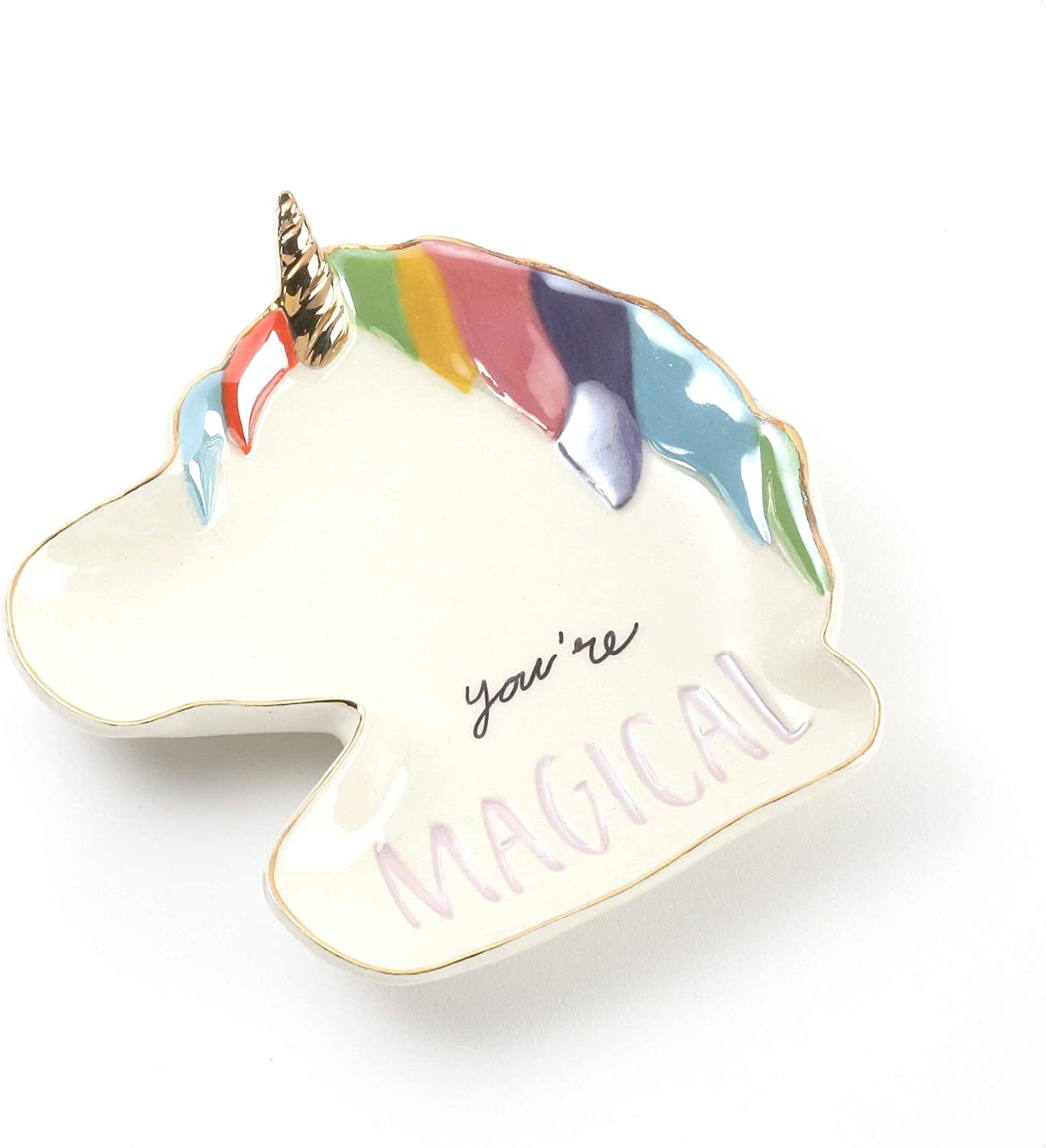 Enesco Our Name is Mud Soap Dispenser Unicorn