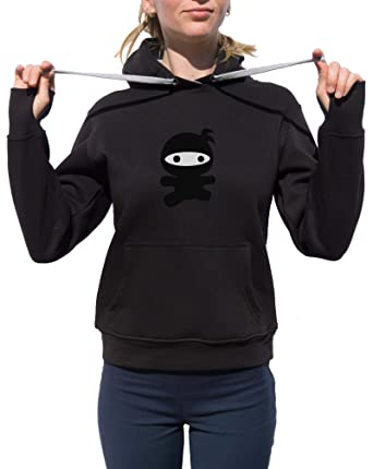 Amazon.com: KrisTalas Women Hoodie Ninja Funny Ninja Ninja ...