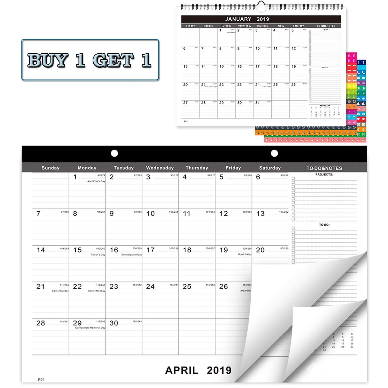 Buy Calendar 2020 Amazon.: 2019   2020 Desk Calendar+Wall Calendar, 17