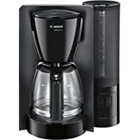 Bosch TKA6A043 Kaffeemaschine ComfortLine, Aromaschutz-Glaskanne, automatisch Endabschaltung wählbar in 20/40/60 minuten, 1200 W, schwarz