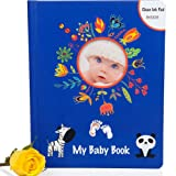 Amazon Price History for:4-IN-1 BABY BOOK GIFT SET w/ Clean Touch INK PAD, Keepsake Gift Box & Pockets - First Five Year Memory Book Boy & Girl - Simple Modern Photo Album - Scrapbook Record Milestone - Newborn Shower