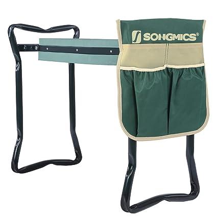Amazon.com: Songmics asiento con almohadilla para rodillas ...