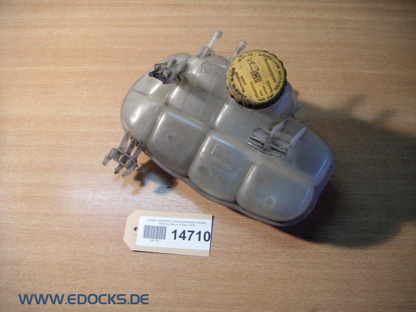 Ausgleichsbehälter Kühlwasserbehälter Behälter Kühlung Meriva A Opel Auto