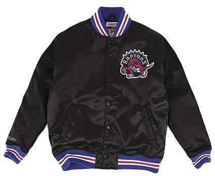 e3cf8f9267c Toronto Raptors Mitchell   Ness NBA  quot History quot  Premium Satin Jacket