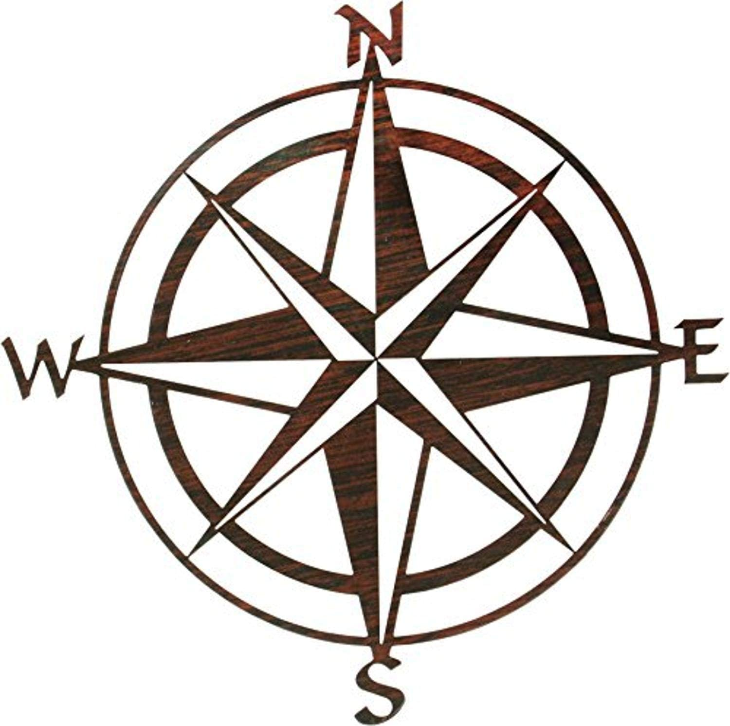 Thirstystone Compass Rose Wall Art, 20-Inch