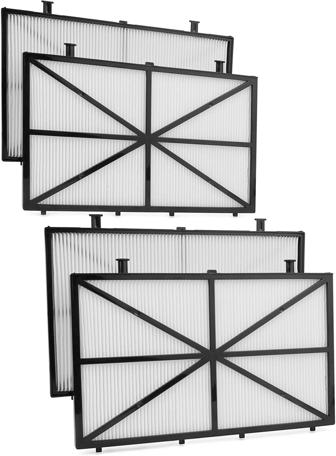 FutureWay Ultra-Fine Filter Compatible with Dolphin m400, m500, and Nautilus CC Plus, 4-Pack Robotic Pool Cleaner Filters Replacement Maytronics 9991432-R4